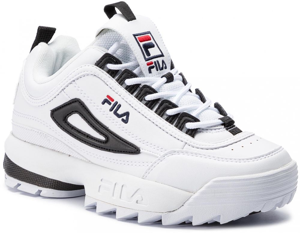 9640274898 Sneakersy FILA - Disruptor Cb Low Wmn 1010604.00E White Black značky Fila -  Lovely.sk