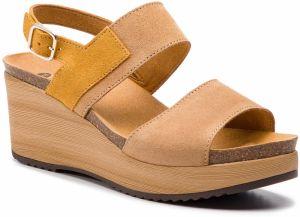 d5477e593418 Scholl Dámske sandále Blanche Bioprint Ochre F270611042 39 značky ...