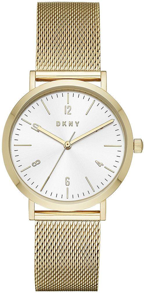 12a44ee2e Hodinky DKNY - Minetta NY2742 Gold/Gold značky DKNY - Lovely.sk