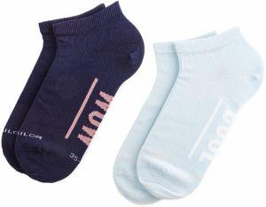 53050abcc9a16 Súprava 2 párov kotníkových ponožiek dámskych TOM TAILOR - 97118 Blue 526