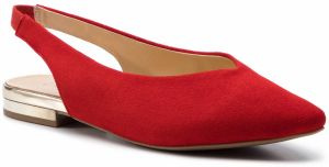 Sandále CAPRICE - 9-29401-22 Red Suede 524
