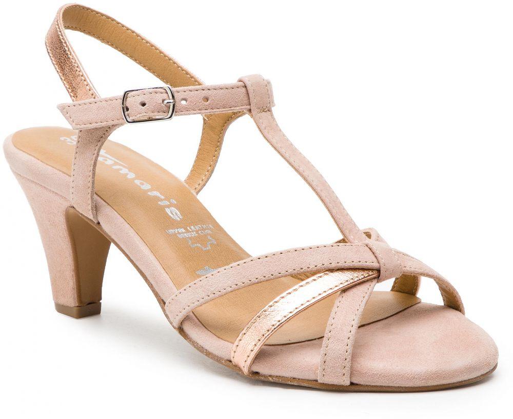 27f9e1140473d Sandále TAMARIS - 1-28360-22 Rose/Rose Met. 527 značky Tamaris - Lovely.sk