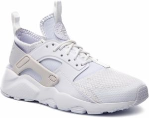 Topánky NIKE - Air Huarache Run Ultra Gs 847568 104 White/White/Vast Grey