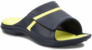 Šľapky CROCS - Modi Sport Slide 204144 Navy/Tennis Ball Green
