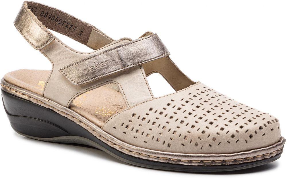 582ceb761c90 Sandále RIEKER - 47775-42 Grau Kombi značky RIEKER - Lovely.sk