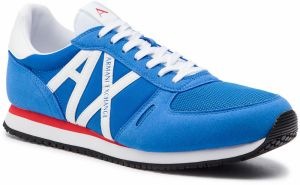 Sneakersy ARMANI EXCHANGE - XUX017 XV028 00984 Blue/White