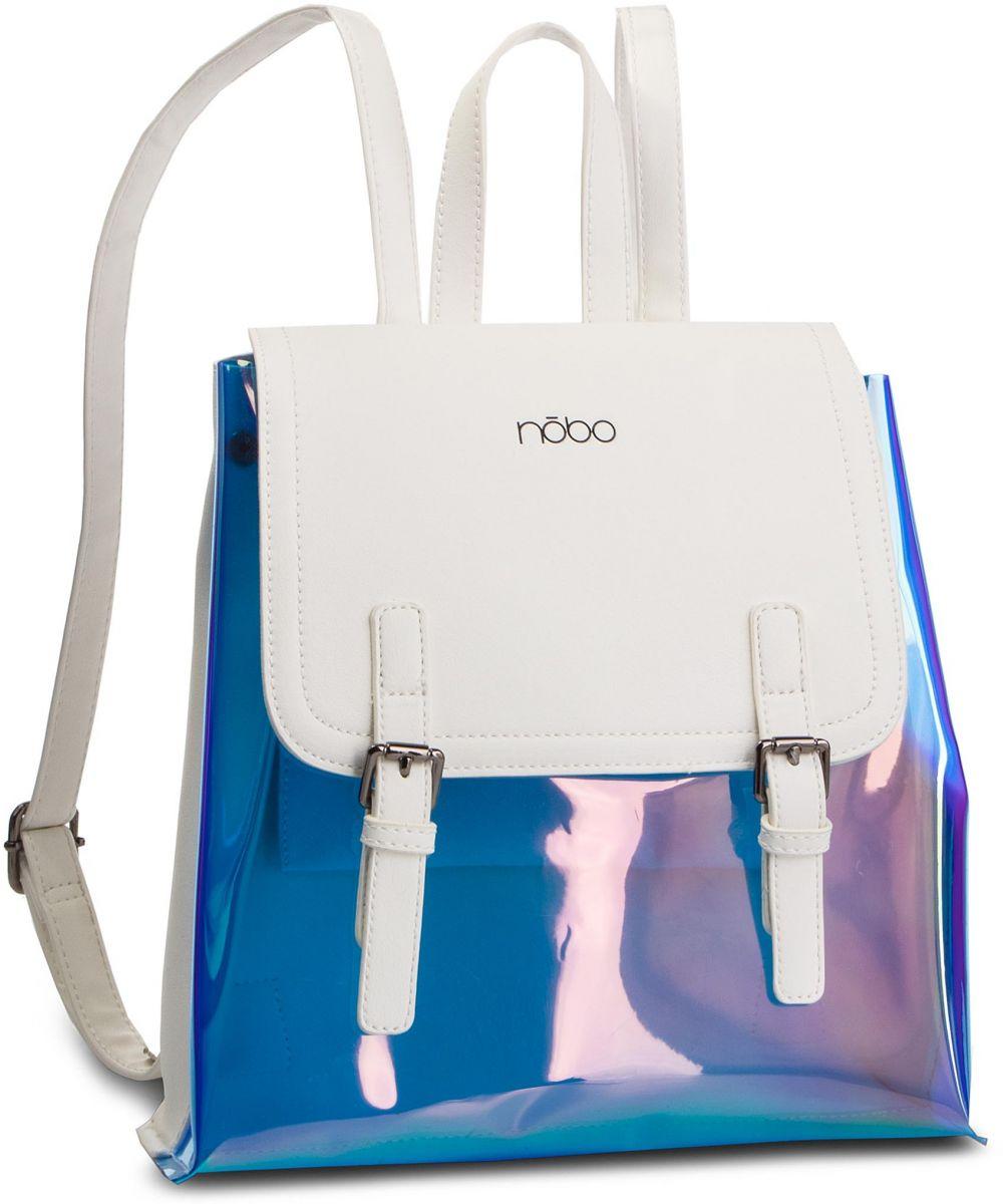 00869956a0 Ruksak NOBO - NBAG-G2880-C000 Biela Modrá značky NOBO - Lovely.sk