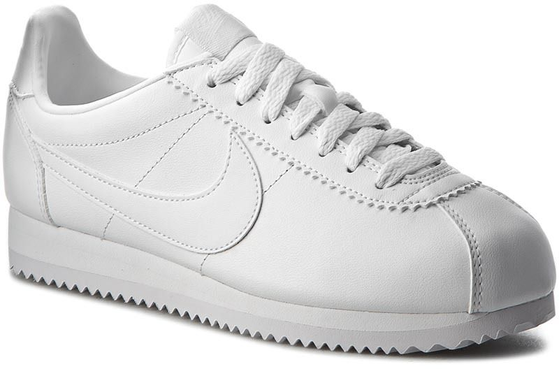 5208209a327f6 Topánky NIKE - Classic Cortez Leather 807471 102 White/White značky ...