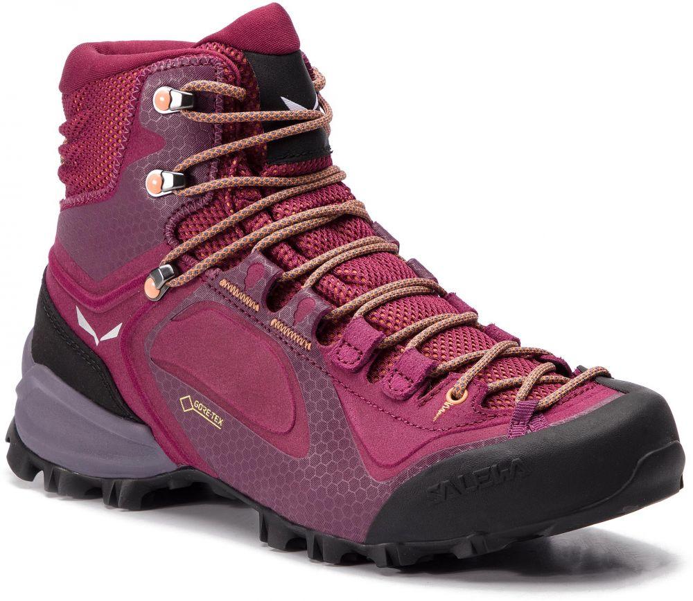 5ab712ce2dbc Trekingová obuv SALEWA - Alpenviolet Mid Gtx GORE-TEX 61337-6895 Red Plum