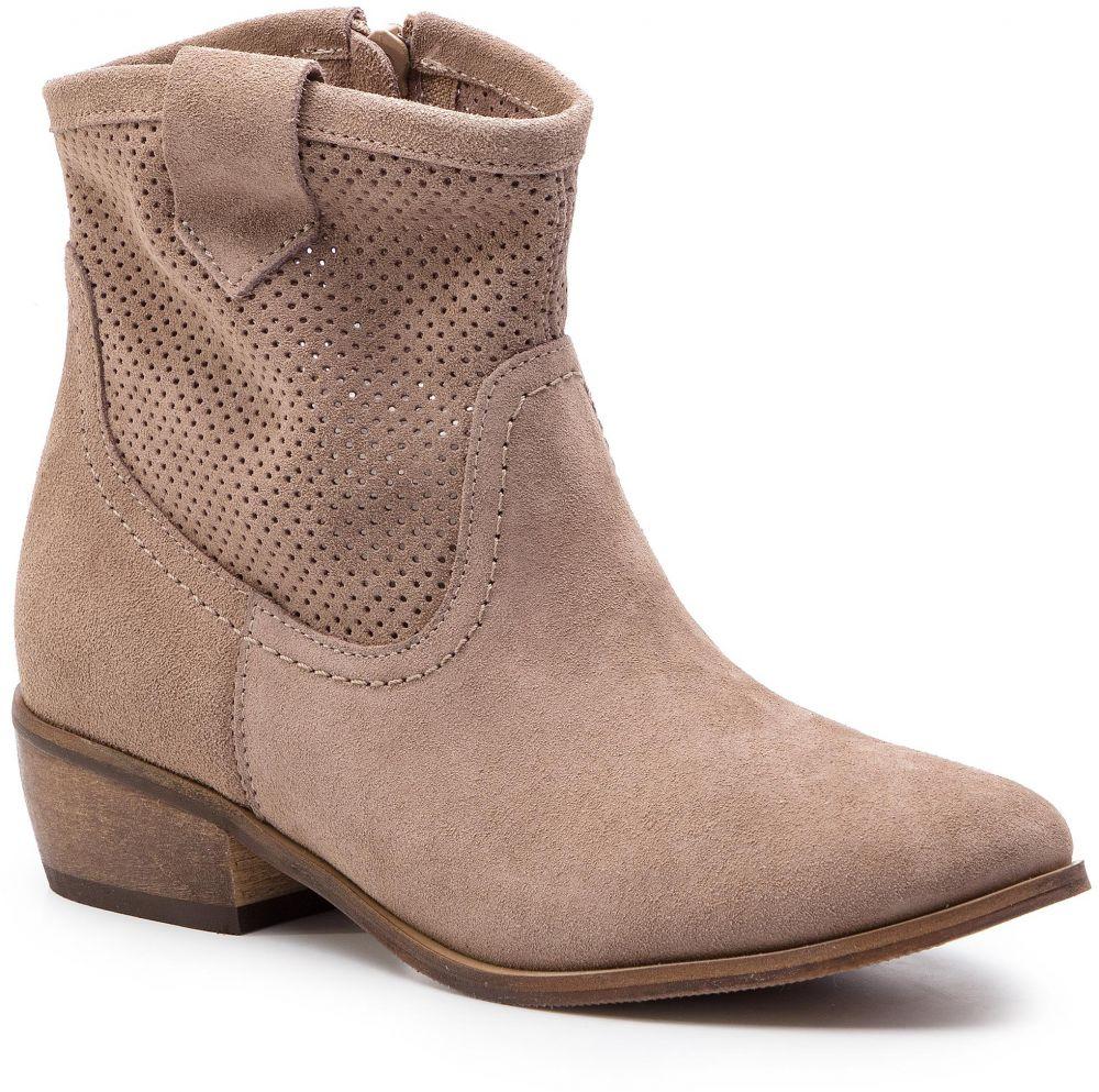 d5a23bd76a Členková obuv R.POLAŃSKI - 0979 D Cappucino Zamsz 42 značky R ...