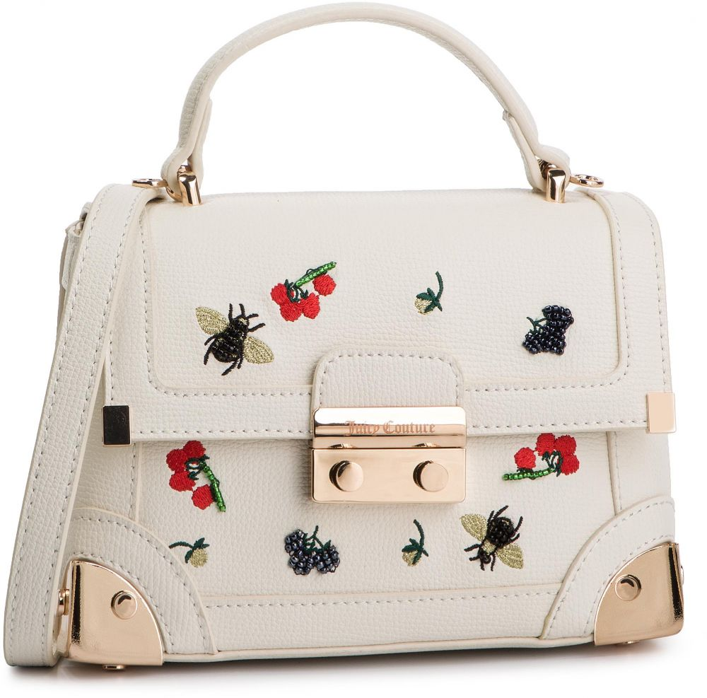 1f843db51 Kabelka JUICY BY JUICY COUTURE - Jewell Angelfloral Structured Trunk  JBH5163 Regalanchor