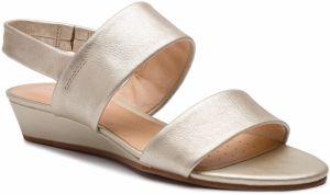 f936fb21563c Sandále CLARKS - Sense Lily 261394454 Champagne Leather