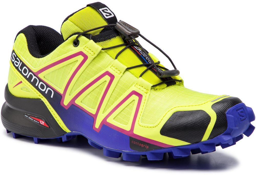 5ea6866caef0 ... Športová obuv Bežecké tenisky · Topánky SALOMON - Speedcross 4 W 391859  21 V0 Gecko Green Spectrum Blue Black