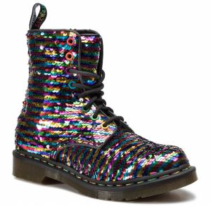 Glady DR. MARTENS - 1460 Pascal Seqn 24594980 Rainbow Multi/Silver