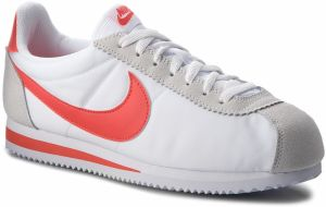 Topánky NIKE - Classic Cortez Nylon 807472 101 White/Habanero Red