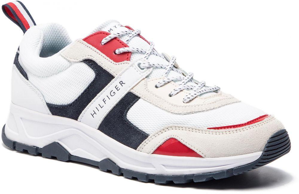 fff24e4f93 Sneakersy TOMMY HILFIGER - Fashion Mix Sneaker FM0FM02027 Rwb 020 ...