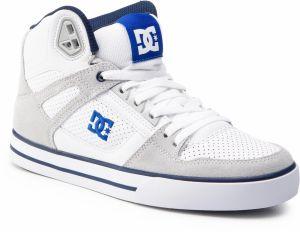 ad4a49b9a Sneakersy DC - Pure High-Top Wc ADYS400043 White/Blue (Wbl)