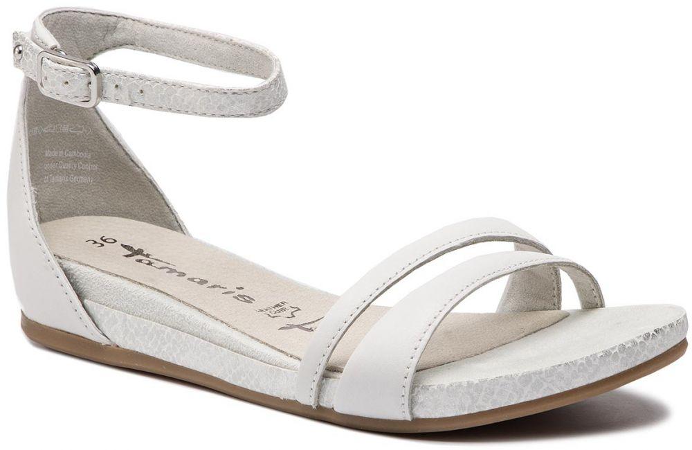 89e77e7a7 Sandále TAMARIS - 1-28102-22 White 100 značky Tamaris - Lovely.sk