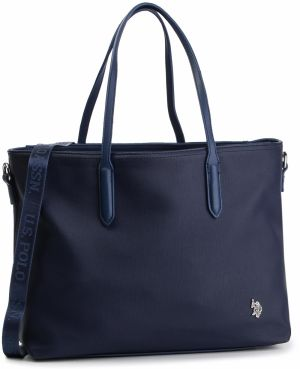 Kabelka U.S. POLO ASSN. - New Portsmou Shopping Bag BEUNP0425WVP212 Navy