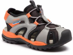 Sandále GEOX - J Borealis B. C J920RC 01554 C0038 S Black/Orange