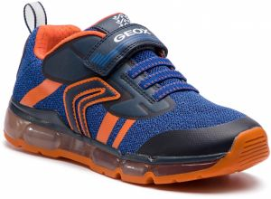 Sneakersy GEOX - J Android B. A J9244A 01454 C0659 DD Navy/Orange