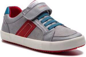 Sneakersy GEOX - J Alonisso B. C J922CC 0CL85 C0051 D Grey/Red
