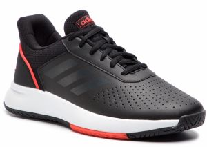 Topánky adidas - Courtsmash F36716 Cblack/Gresix/Actred