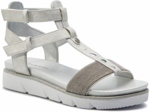 Sandále BUGATTI - 431-67383-6465-1212 Light Grey/Light Grey