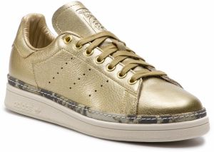 Topánky adidas - Stan Smith New Bold W F34120 Goldmt/Goldmt/Owhite