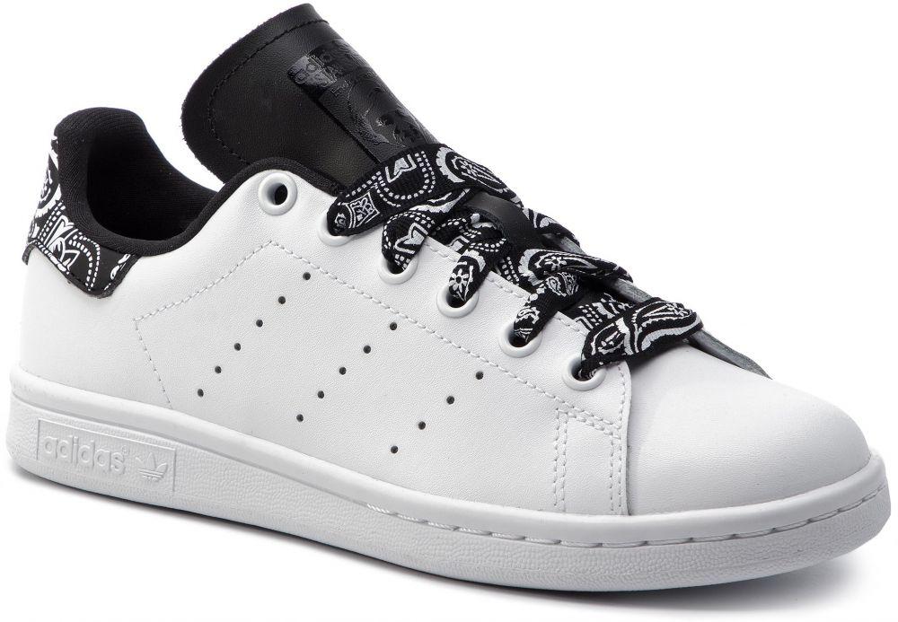 8203324826eb0 Topánky adidas - Stan Smith J CG6562 Ftwwht/Ftwwht/Cblack značky ...