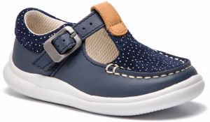 Poltopánky CLARKS - Cloud Rosa T 261412396 Navy Leather
