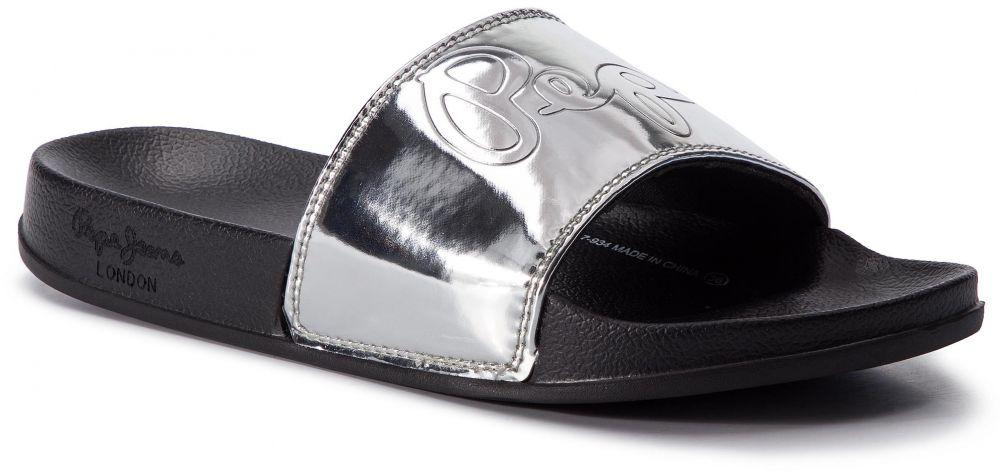 1c1fe1650e Šľapky PEPE JEANS - Flap Shine PLS70037 Silver 934 značky Pepe Jeans -  Lovely.sk
