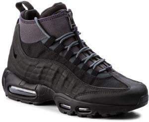 Topánky NIKE - Air Max 95 Sneakerboot 806809 001 Black/Black/Anthracite/White