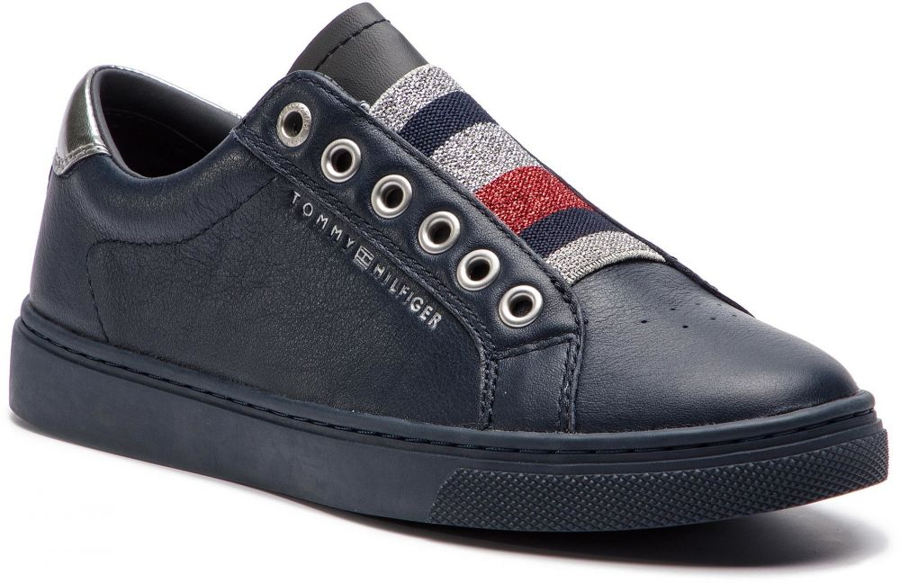a37360b775 Sneakersy TOMMY HILFIGER - Tommy Elastic Essential Sneaker FW0FW03707  Midnight 403 značky Tommy Hilfiger - Lovely.sk