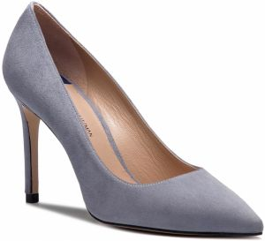 Lodičky STUART WEITZMAN - Leigh 95 YL53460 Dovetail Suede