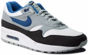 Topánky NIKE - Air Max 1 AH8145 102 White/Gym Blue/Light Pumice