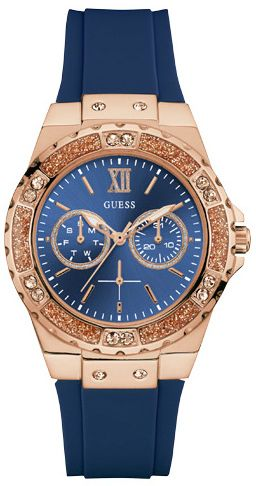 0b9df206e8 Hodinky GUESS - Limelight W1053L1 BLUE ROSE GOLD TONE značky Guess ...