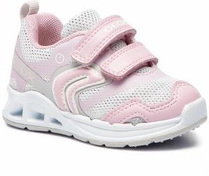 78854374e246 Sneakersy GEOX - B Dakin G. A B922VA 0EWBC C0814 M White Lt Pink