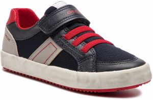 d5ffb0c92f73 Sneakersy GEOX - J Alonisso B. C J922CC 014BU C0735 S Navy Red
