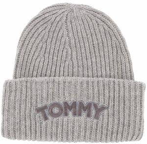 79c52b9f5 Sivá dámska čiapka s prímesou vlny Tommy Hilfiger značky Tommy ...