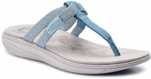 Žabky KEEN - Damaya Flip 1021289 Sterling Blue/Dress Blue