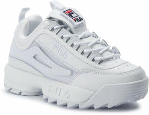 Sneakersy FILA - Disruptor II Patches Wmn 5FM00538.100 White