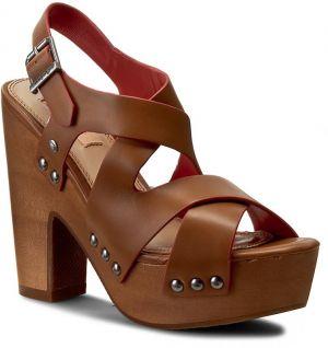 54680a4173499 Sandále PEPE JEANS - Joplin Cross PLS90152 Nut Brown 877