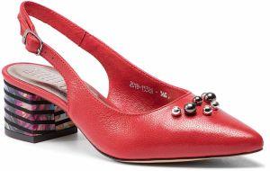 598387ba37 Sandále SIMEN - 1538A Santini Czerwony