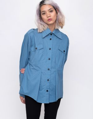 House of Sunny Outlaw Shirt Authentic Blue