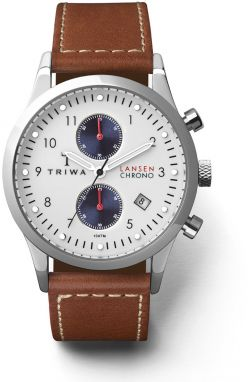 TRIWA Duke Lansen Chrono Brown Sewn Classic