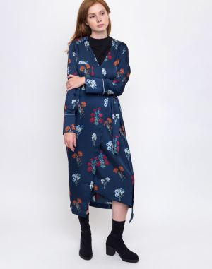 Edited Elly Flower AOP-Navy