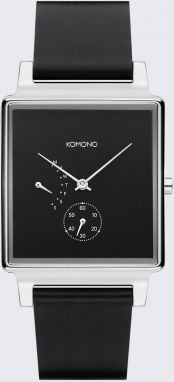Komono Konrad Retrograde Black Silver Retrograde