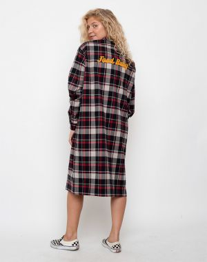 Lazy Oaf Oversize Flannel Multi