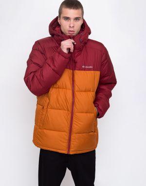 Oranžová pánska zimná bunda s vreckami RVLT značky RVLT - Lovely.sk 4ec595b5edd